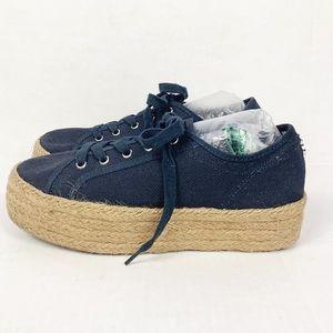 Steve Madden Shoes - STEVE MADDEN Hampton Flatform Espadrille Sneaker